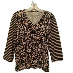 Zenergy By Chicos Womens Blouse